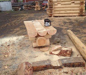 Изображение в Строительство и ремонт Разное сруб стола для бани или сада диаметром 30 в Новосибирске 15000