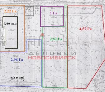 Фото в Недвижимость Земельные участки Предлагаются к продаже земельные участки в Новосибирске 68550000