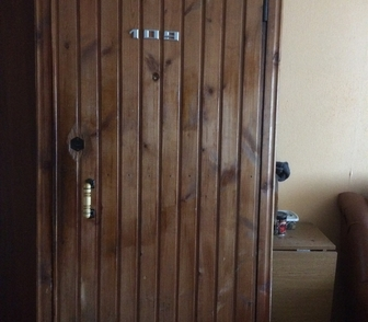 Изображение в   Продам металлическую дверь б/у из 50 уголка в Новосибирске 2500