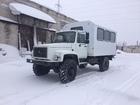 Скачать изображение  Вахтовый автобус белого цвета 38600734 в Агрызе