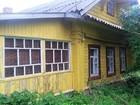 Продается хороший деревянный дом 9х10 с русской баней на пер