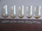 Фото в Мебель и интерьер Посуда 5 фужеров цвета сухого вина с легким перламутром, в Омске 70