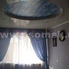 Натяжные потолки глянцевые в Омске цена
