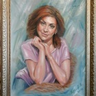 Портрет маслом по фотографии на заказ, художник Андрей Антонов