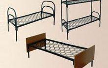 Металлические кровати для бытовок