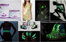 Самосветящаяся краска AcmeLight для прямой печати по текстилю