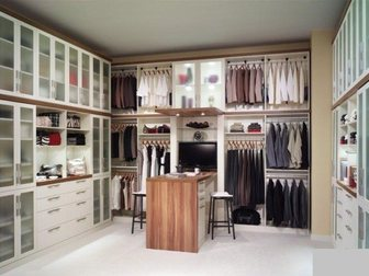 Скачать бесплатно изображение Производство мебели на заказ Гардеробная Га-052 32994697 в Омске