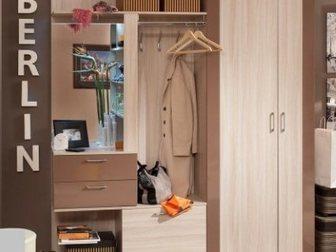 Уникальное фотографию Производство мебели на заказ Прихожая Berlin шоколад глянец 33016169 в Омске