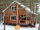Новое изображение  Строим дома, бани из оцилиндрованного бревна под ключ 33635548 в Оренбурге