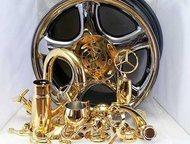металлизация(хромирование) любых твёрдых поверхностей Процесс нанесения зеркальн