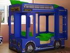 Уникальное изображение Мебель для детей Автобус Лондон синий детская кровать 37446085 в Пензе