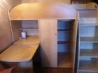 Свежее изображение Детская мебель Продам детскую стенку(шкаф, кровать, письменный стол,место под компютер) 38356785 в Пензе