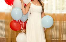 Продаю платье свадебное(выпускное,вечернее)