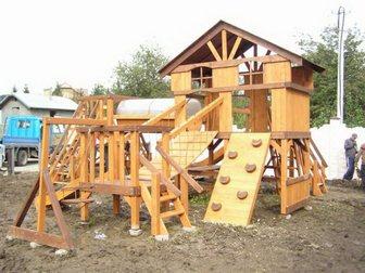 Новое фотографию Разное Детские площадки из клееного бруса и бревна 32481817 в Пензе