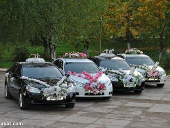 Просмотреть foto Аренда и прокат авто Свадебные кортежи в Пензе + эксклюзивные украшения, 32520221 в Пензе