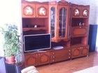 Изображение в Мебель и интерьер Мебель для гостиной Стенка из натурального шпона для дачи или в Перми 6000