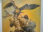 Смотреть foto Антиквариат редкая дорогая картина художник борис валеджо 37421947 в Перми