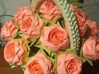 Изображение в Мебель и интерьер Другие предметы интерьера Корзински с розами из модулей. Подойдут как в Перми 550
