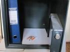 Мебельный сейф с электронным замком 36
