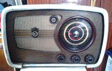 Радиоприемник Ламповый Vef super M 557 год,вып 1945год