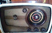 Радио Приёмник Ламповый Vef super m-557, Год,вып 1945 год