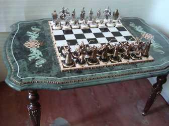 Увидеть изображение  Элитные шахматы и нарды в подарок, 35047167 в Перми