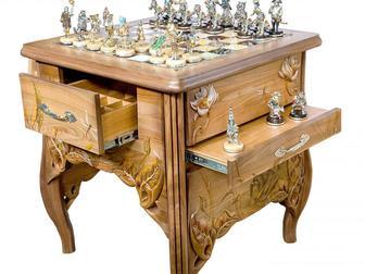 Смотреть фотографию  Элитные шахматы и нарды в подарок, 35047167 в Перми