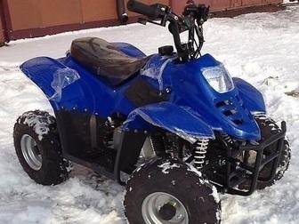 Смотреть изображение Квадроциклы Аналог Grizzly 110cc, мощный, новый, от 4-5 лет и старше, Новые, в наличии, 38203752 в Перми