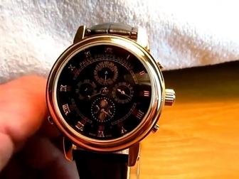 Скачать фото  Часы patek philippe SKY moon tourbillon 38985345 в Перми