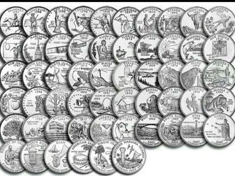 Просмотреть foto Коллекционирование Штаты и территории США, Полный набор всех 56 монет в альбоме 51465782 в Перми