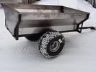 Фотография в Авто Квадроциклы Одноосный прицеп самосвального типа для ATV в Петрозаводске 38500