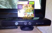 Kinekt+лицензионный диск с игрой для Xbox 360
