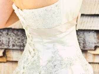 Скачать бесплатно изображение  Продам красивое и нежное свадебное платье 33949815 в Петрозаводске
