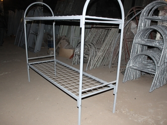 Просмотреть foto Строительные материалы Кровати армейского типа металлические 34116416 в Петрозаводске