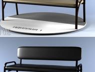 Мягкие банкетки, скамьи и диванчики Банкетки на металлокаркасе нашего производст