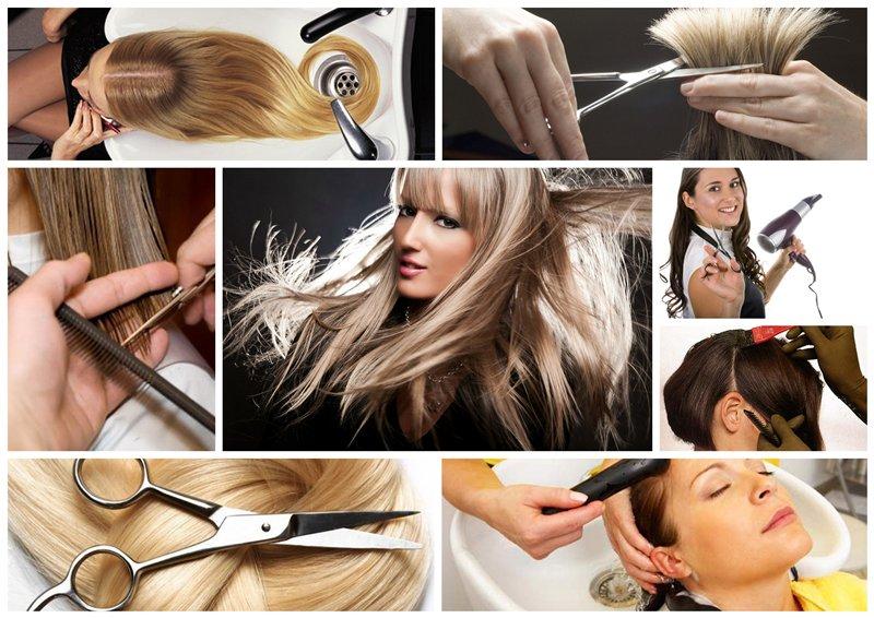 Обучение парикмахерскому искусству и маникюра