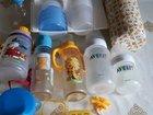 Молокоотсос авент и бутылочки, поильники, термос