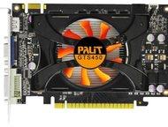 "видеокарта palit geforce gts 450 2gb ddr3 ПроизводительPalit  ""Основные характе"
