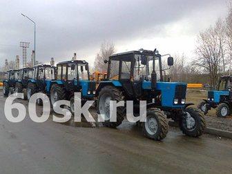 Смотреть изображение Трактор Трактор Беларус мтз 82, 1 Новый 32459434 в Пскове