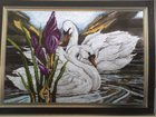 Фото в Хобби и увлечения Разное * Вышитая крестиком картина «Идеальная пара», в Рязани 15000
