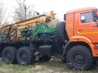 Скачать фото Буровая установка Продается практически новая буровая установка ПБУ-2-319 (2014 г, выпуска) с монтажом на шасси КАМАЗ-5350-42 39458648 в Рязани