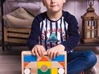 Смотреть изображение  Деревянный детский конструктор 58210992 в Рязани