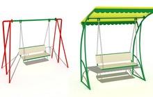 Качели для детской площадки купить в Рязани