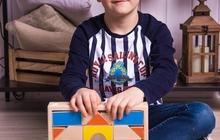 Деревянный детский конструктор