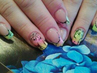 Увидеть фотографию Косметические услуги наращивание ногтей,ресниц;прически и макияж 37638715 в Рязани