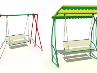 Увидеть изображение Разное Качели для детской площадки купить в Рязани 39865773 в Рязани