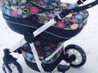 Новое foto  Детская коляска 3 в 1 Riko Nano Flower (Рико Нано) 34167020 в Ростове-на-Дону