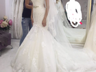 Фотография в Одежда и обувь, аксессуары Свадебные платья Невероятно красивое , со шлейфом, на стройную в Ростове-на-Дону 60000