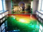 Просмотреть фотографию Ремонт, отделка Полы 3D – идея, позаимствованная у уличных художников 64658614 в Ростове-на-Дону