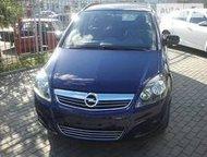 Opel Zafira 2012г Opel Zafira синий минивэн 5 дверей, 2012 г. , пробег 120000 км